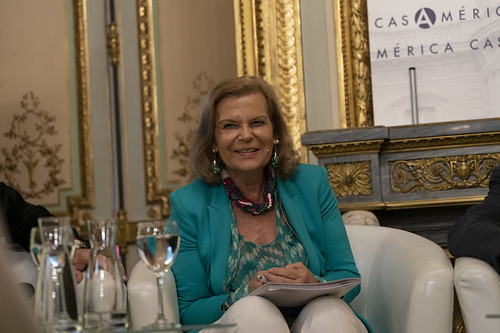 Carme Riera, escritora y miembro de la Real Academia Española