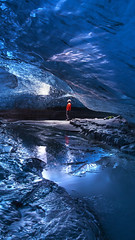 Ice cave I (timexzy123) Tags: coast icecave iceland phototours south adventure blue explore exploring glacier hiking travel