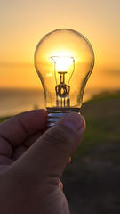 I got an idea!!! (timexzy123) Tags: bright bulb concept conceptual creative ecofriendly electricity energy environment environmental equipment glass glow growth hand idea illumination innovation isolated light lightbulb object power recycling save sun sunset transparent