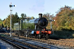 2807 (Pete Rodgers) Tags: train trains 2807 churchward toddington gloucestershirewarwickshiresteamrailway