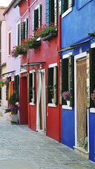 Colorful buildings in Burano island street Venice (timexzy123) Tags: pink architectural architecture attraction beautiful blue bright buldings burano city color colorful colourful contrasting day destination door dye europe european exterior facade historic house island italian italy lagoon multicolored nobody old outdoor paint picturesque port red residential scenic street summer tourism touristic traditional travel venetian veneto venice view wall window