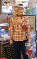 4th of July Mannequin at Antiques Colony (hmdavid) Tags: manuela mannequin july 4thofjuly antiquescolony sanjose