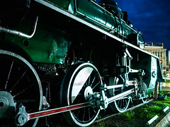 Steamed locomotive (Thanathip Moolvong) Tags: steamed locomotive olympus em5mkii lampang railway station