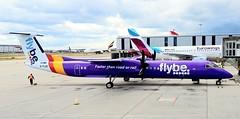 G-FLBC | FlyBe | De Havilland Canada DHC  8-402 Dash 8 (geoff487) Tags: flybe be bee gflbc dash8 dash8q400 dehavillandcanada dhc londonheathrowairportlhr egll