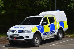 OU12 ARO (S11 AUN) Tags: hertfordshire herts police cambridgeshire cambs constabulary mitsubishi shogun 4x4 rural policing team incident response farm patrol traffic car rpu roads unit 999 emergency vehicle ou12aro