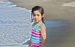 Andrea on the beach (rafanson) Tags: beach child
