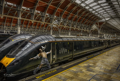 Mind The Gap! (Kev Walker ¦ Thank You 4 Comments n Faves) Tags: paddington station train transport london railway city travel england transportation public rail platform railroad architecture europe uk tourism speed urban blurred tube building metro subway track movement britain underground people british network old passenger departure commuter commuting blur business terminal modern effect pin geography map district traffic paddingtonstation nationalrail