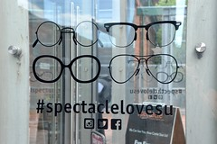 #93/119 - Spectacles - 119 Pictures in 2019 (Krasivaya Liza) Tags: toronto canada canadian ontario distillery district warehouse warehouses factory factories refurbished art artist photographer self portraits 93 93119 spectacles 119picturesin2019