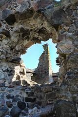 Castle ruin 001 (Irmzaq photography) Tags: abandoned abandonedphotography abandonedbuilding ruins castle castleruin abandonedruin abandonedcastle photography castletower tower ruinphotography stegeborg