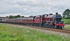 Galatea SSE (JohnGreyTurner) Tags: br rail uk railway train transport engine locomotive seamer scarborough yorkshire west coast wcrc jubilee galatea 45699 steam