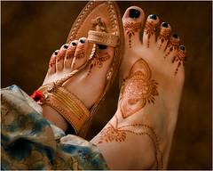 Foot Mehndi (Michael Patnode) Tags: foot mehndi mikepatnode photoart feet body toes
