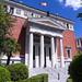 Fachada de la sede de la Real Academia Española