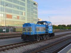 Estonia class TGM23B (onewayticket) Tags: diesel railway trains transport shunter dieselshunter gorail tallinn estonia