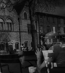 Clock Hands (Bury Gardener) Tags: burystedmunds suffolk streetphotography street streetcandids snaps strangers candid candids people peoplewatching folks 2019 england eastanglia uk britain fuji fujixt3 fujifilm bw blackandwhite monochrome mono buttermarket