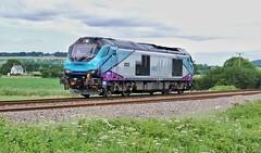 A Risky 68 (ii) (JohnGreyTurner) Tags: br rail uk railway train transport engine locomotive seamer scarborough yorkshire diesel 68 class68 superskip light training