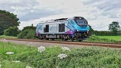A Risky 68 (ii) (JohnGreyTurner) Tags: br rail uk railway train transport engine locomotive seamer scarborough yorkshire diesel 68 class68 tpe transpennine superskip training