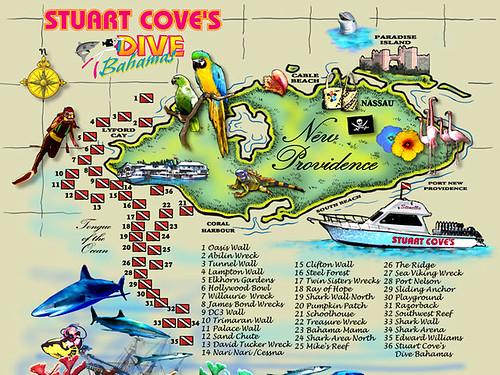 Dive sites Nassau