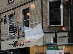 Vegan Cook (Bury Gardener) Tags: burystedmunds suffolk streetphotography street streetcandids snaps strangers candid candids people peoplewatching folks 2019 england eastanglia uk britain fuji fujixt3 fujifilm stjohnsstreet