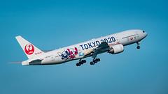 20190616 HND JA773J (dora9092) Tags: 777200 jal japanairlines hnd 羽田空港 tokyointernationalairport 日本航空 boeing777246 hanedaairport 東京国際空港 rjtt