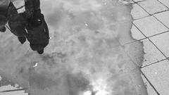 Woda tu i tam (tomislater) Tags: fujifilm x100f xseries fujifilmxseries fujix100f fujifilmx100f street city streetphotography urban poland wrocław wroclaw acros blackandwhite fujiacros fujifilmacros