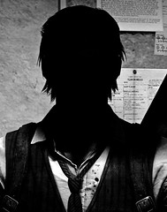 """Faceless"" (L1netty) Tags: theevilwithin tangogameworks bethesdasoftworks bethesda pc game gaming pcgaming videogame reshade screenshot virtual digital 4k character sebastiancastellanos sebastian man male people portrait light shadows blackandwhite monochrome bw indoor"