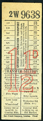 ticket - grimsby ct threehalfpence (johnmightycat1) Tags: bus ticket lincolnshire
