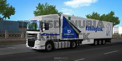 (DOWNLOAD) Transdanubia SkinPack - Daf XF105 w/ Krone CoolLiner (gripshotz) Tags: download mod skin pack transdanubia daf xf 105 krone cool liner dlc trailer euro truck simulator ets 2