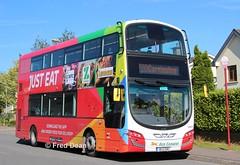 Bus Eireann VWD41 (151C7156). (Fred Dean Jnr) Tags: buseireann volvo b5tl wright eclipse gemini3 vwd41 151c7156 carrigaline cork june2019 alloverad justeat buseireannroute220