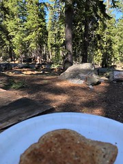 USFS Campground Near South Lake Tahoe (valeehill) Tags: campground lutherpass southlaketahoe california overthehillsisters oths breakfast