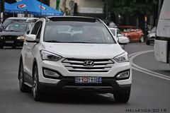 Hyundai Santa Fe - Iran, Tehran (Helvetics_VS) Tags: licenseplate iran tehran