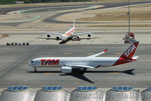 Primeiro A350 XWB das Americas