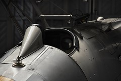 Cockpit (Steve.T.) Tags: duxford iwmduxford museum exhibit cockpit biplane nikon d7200 sigma18200 lowlight lowkey availablelight militaryaircraft militaryaviation aviationphotography cambridgeshire raf hawkernimrod