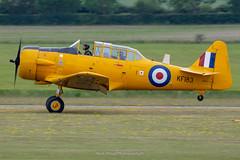 North American T-6 Harvard KF183 / G-CORS. (Mark_Aviation) Tags: north american t6 harvard kf183 gcors iwm duxford egsu daks over normandy