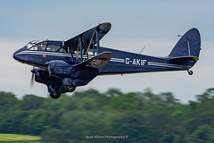 DH-89A Dragon Rapide G-AKIF (Mark_Aviation) Tags: dh89a dragon rapide gakif dh89 dehavilland iwm duxford egsu daks over normandy