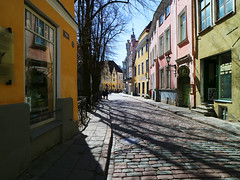 'City Streets' (Timster1973 - thanks for the 16 million views!) Tags: tallinn estonia old city travel walkswithnon timknifton timster1973 oldtown streets light shadows walk walks walking buidings architecture mirrorless canonm3 canonmirrorless canon1122mm wideangle