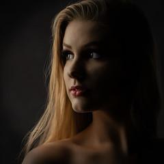 Madison 060819 03 (TNrick) Tags: portrait modelinglight daytonastatecollege daytona florida lowkey woman
