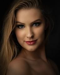 Madison 060819 02 (TNrick) Tags: portrait modelinglight daytonastatecollege daytona florida lowkey woman