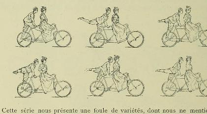This image is taken from Page 382 of Le maintien et le mouvement sexlatéral et proportionnel de l'homme sain des deux sexes et de tout âge en gymnastique, natation, patinage, escrime, promenade, jeux, cyclisme, canotage, équitati