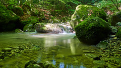 creek (ivoräber) Tags: bach 24mm sony switzerland schweiz systemkamera swiss gm creek