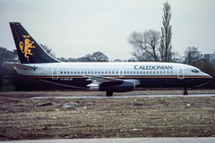 Caledonian 737-200 (Martyn Cartledge / www.aspphotography.net) Tags: 737200 aerodrome aeroplane air aircraft airline airliner airplane airport aspphotography aviation boeing britishairways caledonian cartledge civilairline civilairliner flight fly flying flywinglets gbgjf jet martyn plane runway scan transport wwwaspphotographynet wwwflywingletscom uk asp photography
