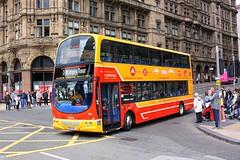 Three Bridges Tour (Chris Baines) Tags: lothian buses volvo b9tl wright eclipse gemini sn08 bxv three bridges tour