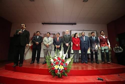Actividades del presidente del Consejo de Ministros en el departamento de Ayacucho