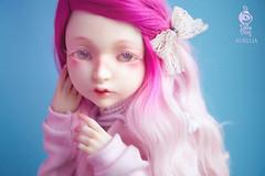 Pink Aurelia (Do Dolls Dream) Tags: do dolls dream aurelia dodollsdream ball jointed doll bjd art fantasy elf ears