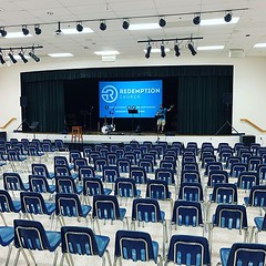 We are preparing for our Sunday gathering. Our space is ready for you! Our vision and prayer is to help everyday people wake up to deep, meaningful life in Christ. Are you awake? 🙌 (rcokc) Tags: we preparing for our sunday gathering space is ready you vision prayer help everyday people wake up deep meaningful life christ are awake 🙌