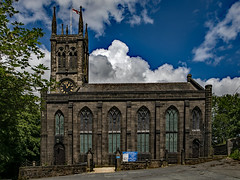 St Chads Church - Uppermill, Saddleworth (Craig Hannah) Tags: saddleworth stchadschurch saddleworthchurch uppermill building structure sky weather clouds craighannah photography photos canon westriding yorkshire oldham greatermanchester england uk june 2019