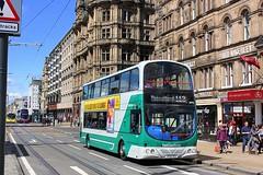 Eastcoast Buses Edinburgh (Chris Baines) Tags: buses eclipse volvo working service wright gemini eastcoast 113 aeu b7tl sn55