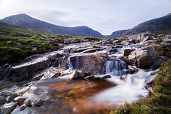 Trassey River (cmcm789) Tags: mournes trassey river sky mountains bearnagh county down northern ireland canon lanscape waterfall rocks