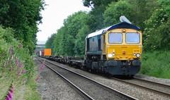 "66709 ""Sorrento"" - Water Orton, Warwickshire (The Walsall Spotter) Tags: gbrf class66 diesel locomotive 66709 waterorton railway warwickshire u k uk freight hamshall southampton networkrail britishrailways"