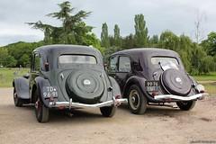 Citroën Traction Avant 11BL 1949 & 1951 (TD-96-91)(99-76-UT) (MilanWH) Tags: citroën traction avant 11bl 1949 11cv 1951 td9691 9976ut sport sportje wieltje