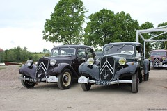 Citroën Traction Avant 11BL 1949 & 1951 (TD-96-91)(99-76-UT) (MilanWH) Tags: citroën traction avant 11bl 1949 11cv 1951 td9691 9976ut